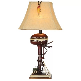 Medway-Boat-Motor-32-Table-Lamp Boat Lamps and Sailboat Lamps