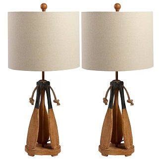 Ripley-27-Tripod-Table-Lamp-Set-of-2 Boat Lamps and Sailboat Lamps