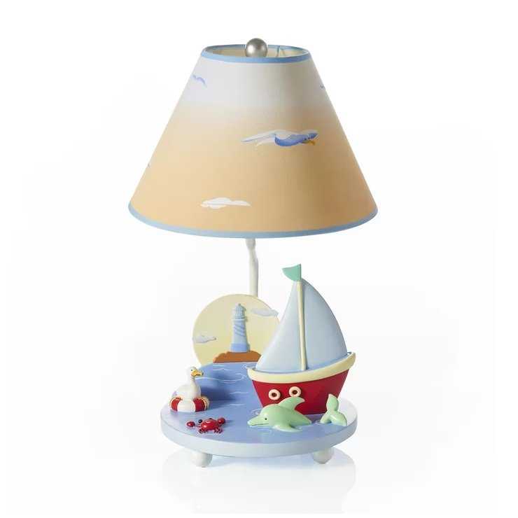 Sailing-19-Table-Lamp Boat Lamps and Sailboat Lamps