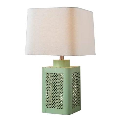 alani-green-table-lamp Beach Themed Lamps