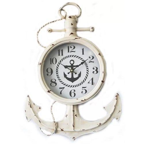 belvoir-nautical-anchor-wall-clock-14 Nautical Clocks