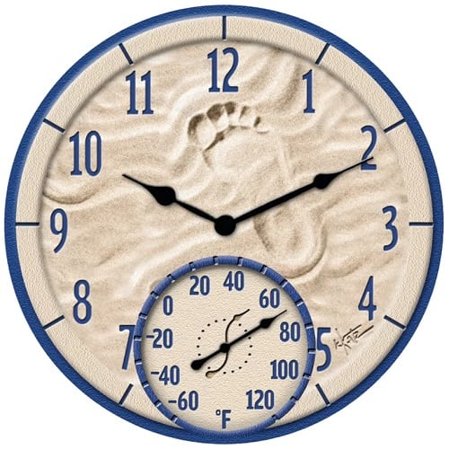 by-the-sea-clock-15 Nautical Clocks