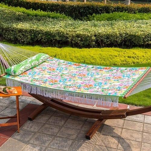 lazy-daze-hammocks-floral-hammock Best Rope Hammocks