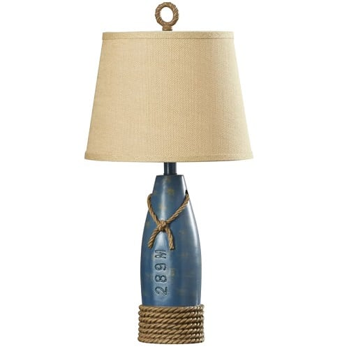 milford-rope-buoy-table-lamp Beach Themed Lamps