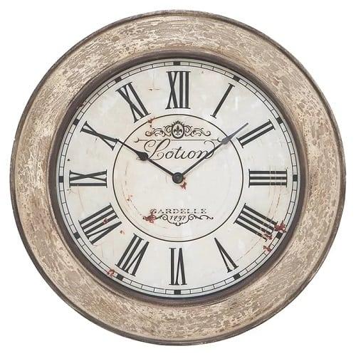 one-allium-way-round-wood-wall-clock-24 Nautical Clocks