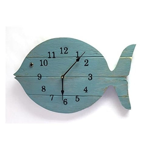 painted-fish-clock-15 Nautical Clocks