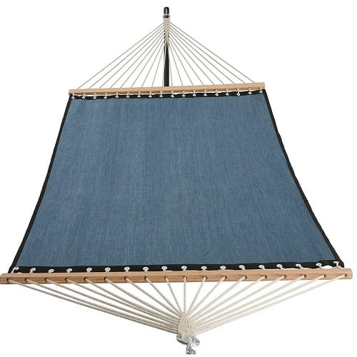 patio-watcher-dark-blue-rope-fabric-hammock 100+ Best Rope Hammocks