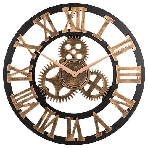 retro-3d-gear-nautical-clock-23 Nautical Clocks