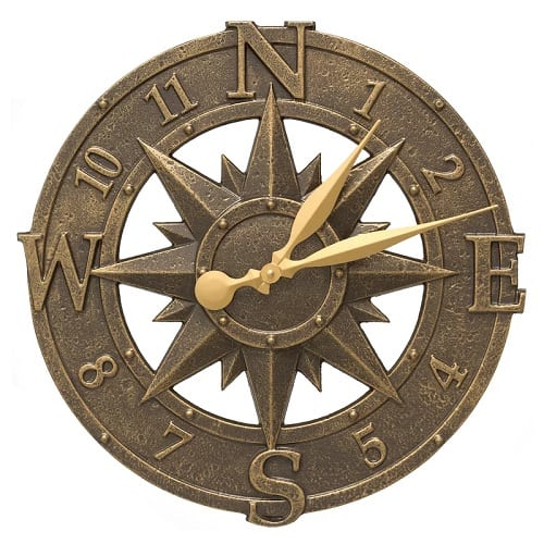 stillwater-compass-clock-birch-lane-16 Nautical Clocks
