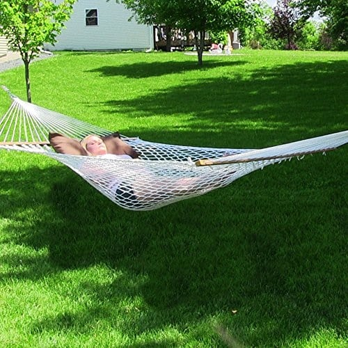 sunnydaze-rope-hammock Best Rope Hammocks