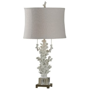 hand-carved-coral-32-table-lamp Coral Lamps