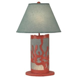 hutzler-coral-scene-panel-30-table-lamp Coral Lamps
