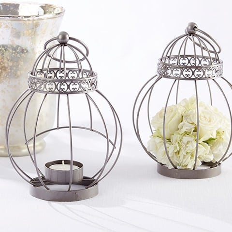 metal-cage-nautical-wedding-lantern Beach Wedding Lanterns & Nautical Wedding Lanterns