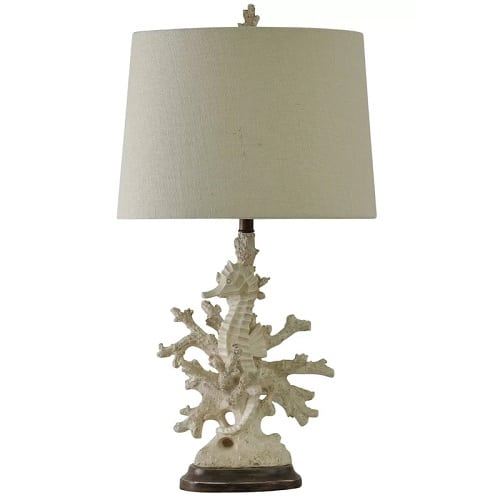 seahorse-coral-table-lamp Coral Lamps
