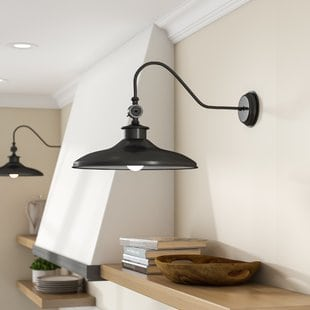 spartansburg-1-light-barn-light Beach Wall Sconces & Nautical Wall Sconces