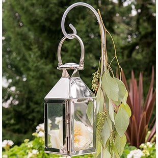 stainless-steel-lantern Beach Wedding Lanterns & Nautical Wedding Lanterns