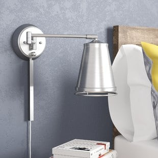 zara-swing-arm-lamp Beach Wall Sconces & Nautical Wall Sconces