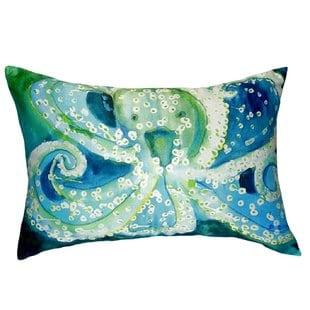 aneira-octopus-indooroutdoor-lumbar-pillow Nautical Pillows and Nautical Throw Pillows