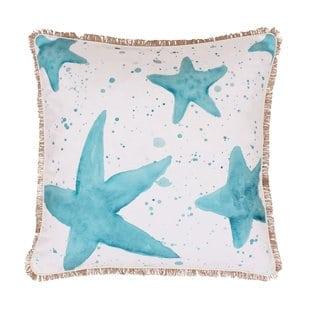 coastal-samaria-starfish-splatter-throw-pillow Nautical Pillows and Nautical Throw Pillows