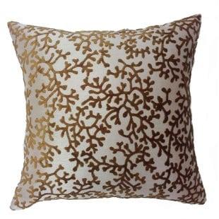 coral-throw-pillow Nautical Pillows and Nautical Throw Pillows