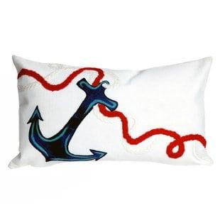 eichler-anchor-indooroutdoor-lumbar-pillow Nautical Pillows and Nautical Throw Pillows