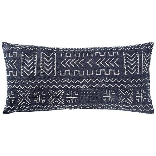 rivet-mudcloth-inspired-nautical-pillow Nautical Pillows and Nautical Throw Pillows