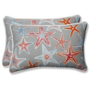 stars-collide-indooroutdoor-lumbar-pillow-set-of-2 Nautical Pillows and Nautical Throw Pillows