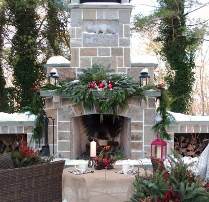 A-Summit-Landscape-and-Patio-by-Deborah-Cerbone-Associates-Inc. 34 Beach Christmas Decorating Ideas For 2020