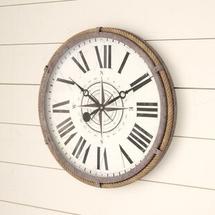 AbellaNautical17.522WallClock Nautical Themed Clocks