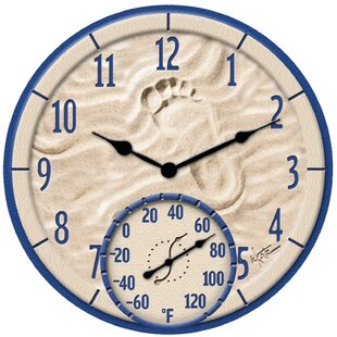 ByTheSea1222WallClock Nautical Themed Clocks