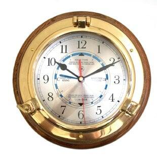 Calfee622WallClock Nautical Themed Clocks