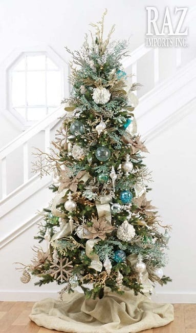 Coastal-Christmas-Tree-by-Raz-Imports-Inc 25+ Beach Christmas Tree Ideas