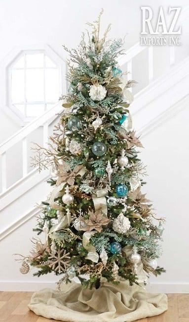 Coastal-Christmas-Tree-by-Raz-Imports-Inc 25+ Beach Christmas Tree Ideas 2020