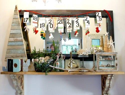 M-Houzz-Bay-Residence-by-Mina-Brinkey 34 Beach Christmas Decorating Ideas