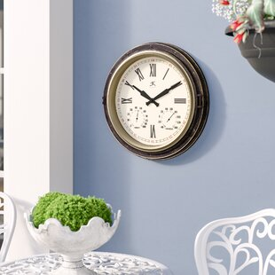 MatsudaAllWeatherWallClock Nautical Themed Clocks