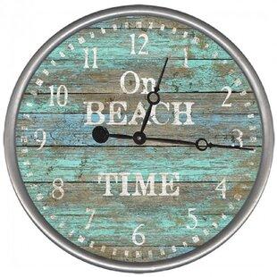 OnBeachTimeWallClock Nautical Themed Clocks