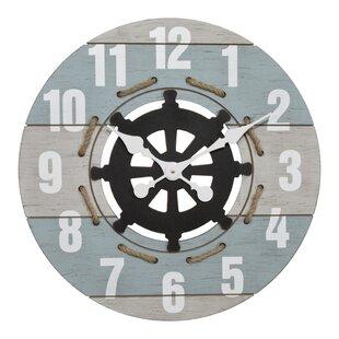 OversizedMatsumura23.622WallClock Nautical Themed Clocks