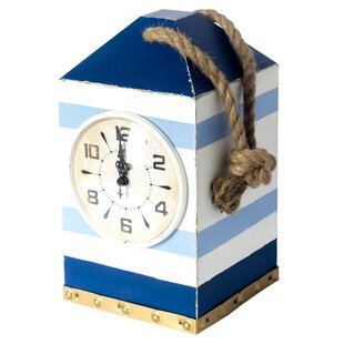 WoodTabletopClock Nautical Themed Clocks