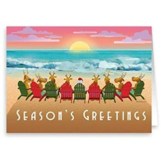 beach-christmas-cards Beach Decor