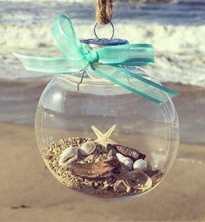 Beach Christmas Ornaments and Coastal Christmas Ornaments