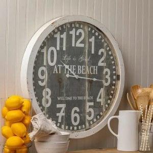 Beach Wall Clocks