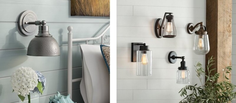 beach wall sconces