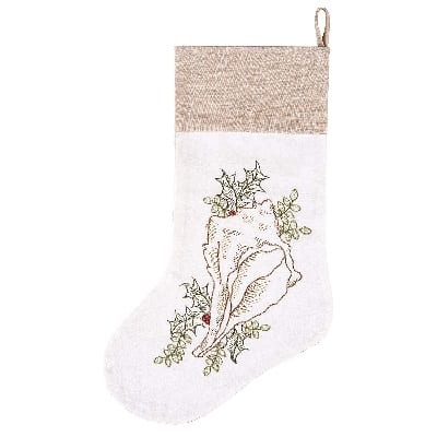 conch-christmas-stocking 100+ Beach Themed Christmas Stockings
