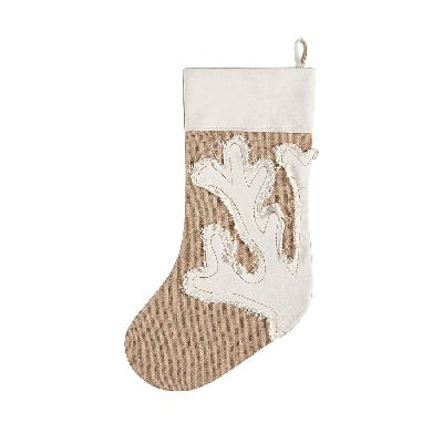 coral-merry-christmas-stocking 100+ Beach Themed Christmas Stockings
