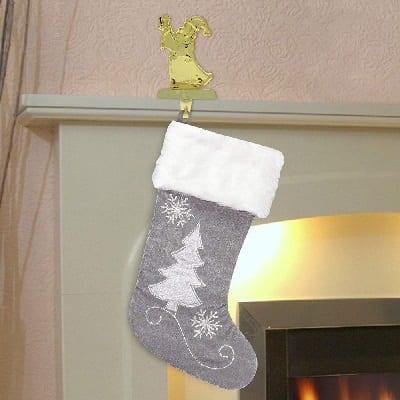 gray-christmas-stocking 100+ Beach Themed Christmas Stockings For 2020