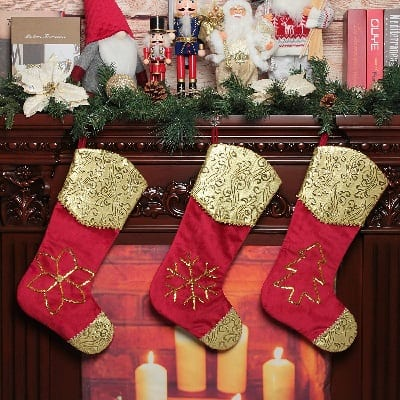 jusdreen-christmas-stockings-embroidered 100+ Beach Themed Christmas Stockings