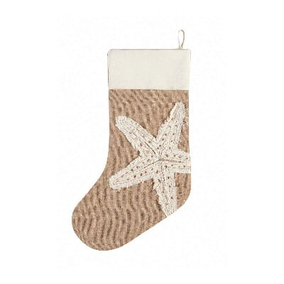 starfish-christmas-stocking 100+ Beach Themed Christmas Stockings For 2020