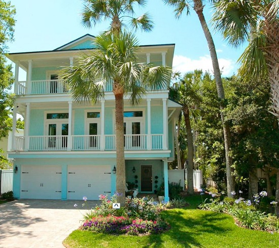 Florida-Cottage-by-Lendry-Homes 50+ Coastal Cottages We Love