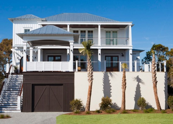 J-Brown-Contractors-by-Brown-Glaws-Contractors-Fine-Custom-Homes 50+ Coastal Cottages We Love