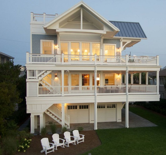 Lagoon-Home-Wrightsville-Beach-NC-by-Lisle-Architecture-and-Design 50+ Coastal Cottages We Love